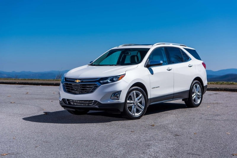 2018 Chevrolet Equinox - drivers side front view
