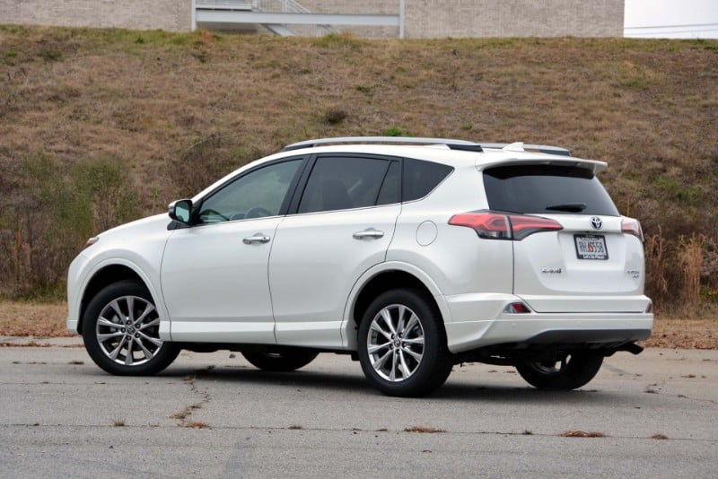 2018 Toyota RAV4 - drivers side view