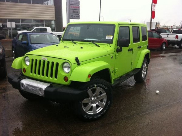 Jeep Wrangler Unlimited Colors 1