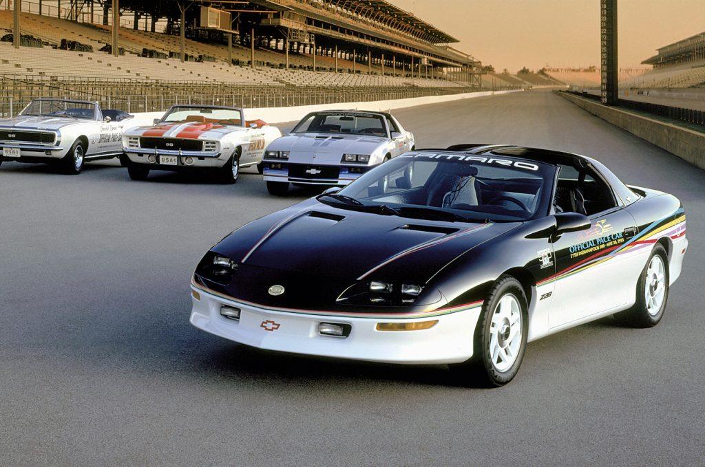 1993 camaro pace car