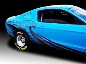 mustang cobra jet graphics