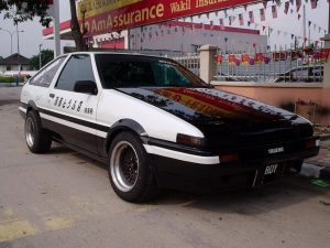 AE86 Toyota, Drift King