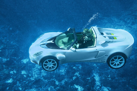 Rinspeed sQuba submersible car 2