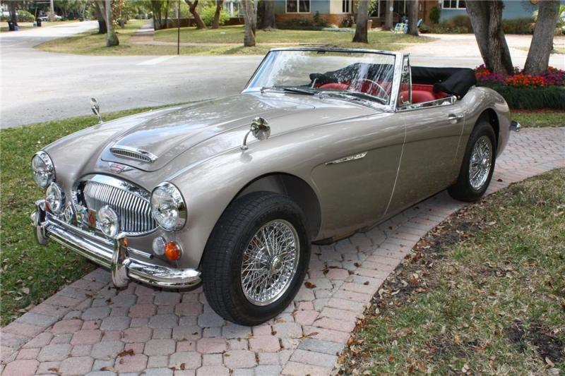 Austin Healey 3000 - Cool Vintage Cars