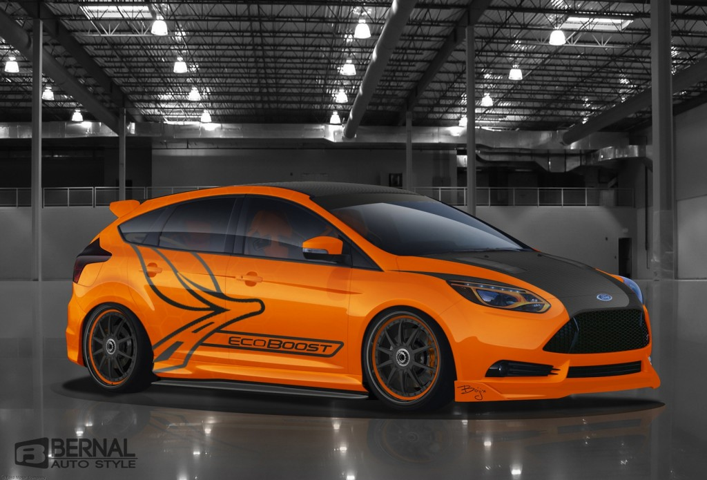 Sema 2012 The 2013 Ford Focus St Face Off