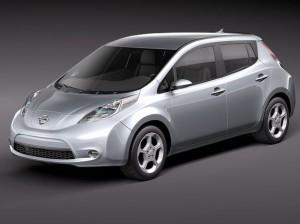 Leaf EV Nissan 2012