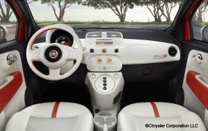2013 Fiat 500e - Interior Shot