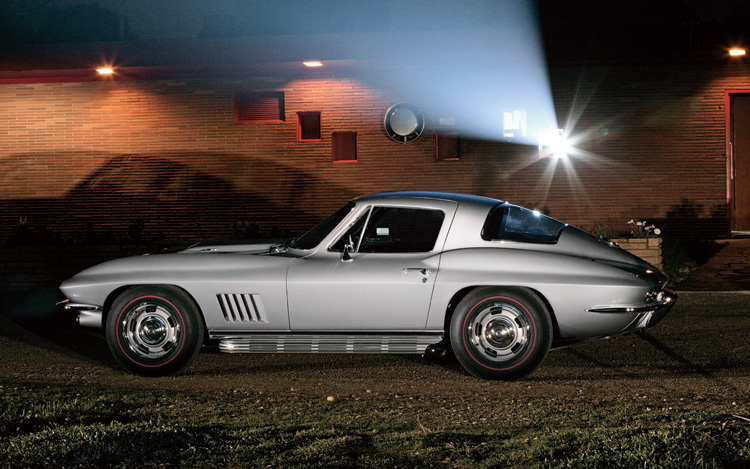1967 Chevy Corvette Sting Ray - Cool Old Cars From America!