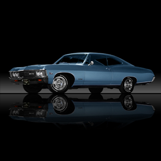 1967 Chevy Impala SS - Cool Old Cars From America!
