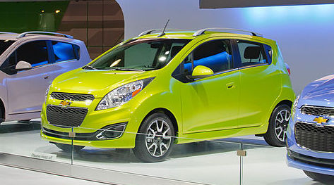 Chevy Spark at the 2011 LA Auto Show