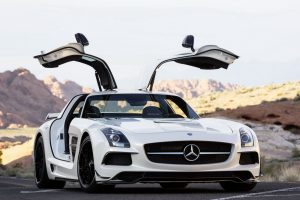2012 MB SLS AMG Black Series.