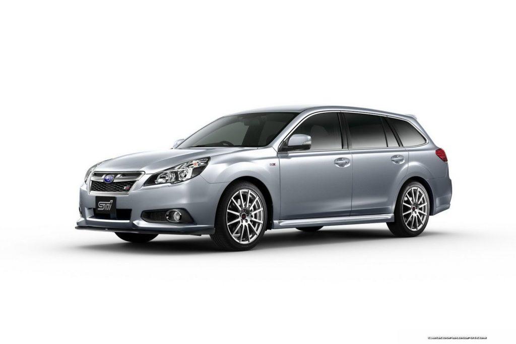 2013 Subaru Legacy STi Sedan 4