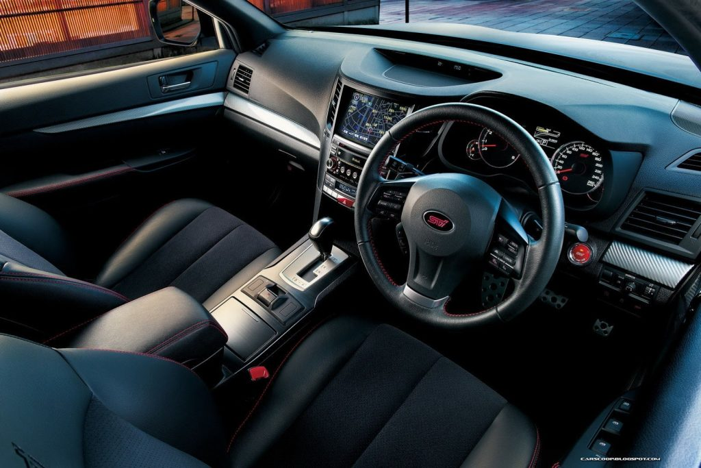 2013 Subaru Legacy STi Sedan 3
