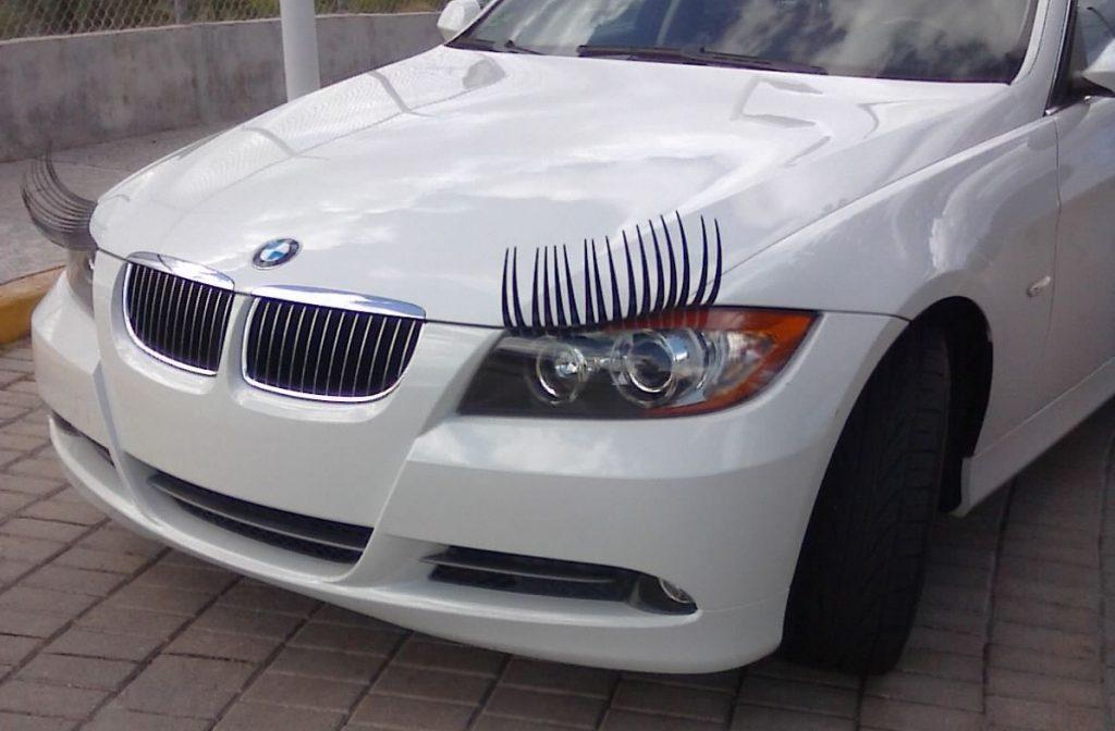 car-eyelashes