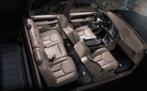 2013 Chevrolet Avalanche Seating