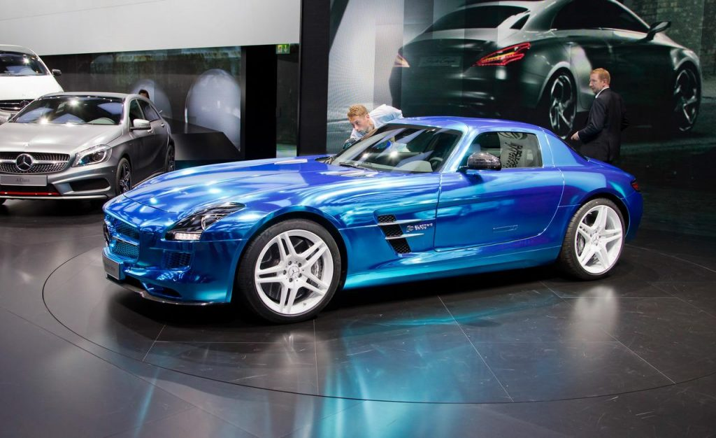 Mercedes SLS AMG Electric Drive Coupe 1