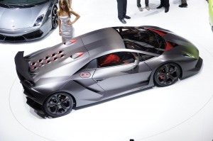 Lamborghini Sesto Elemento Above