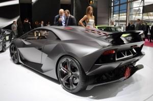 Lamborghini Sesto Elemento Side Rear
