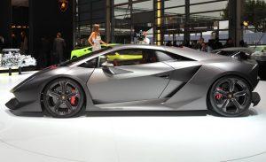 Lamborghini Sesto Elemento Side