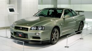 Foreign Cars Not Sold In USA - Nissan Skyline R34