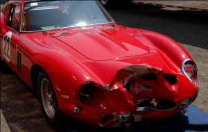 ferrari 250 gto destroyed after the race