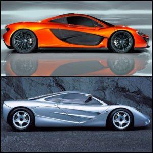 McLaren F1 Specs vs McLaren P1 Stats