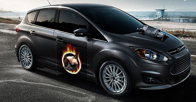 Ford C-Max SatanPuss
