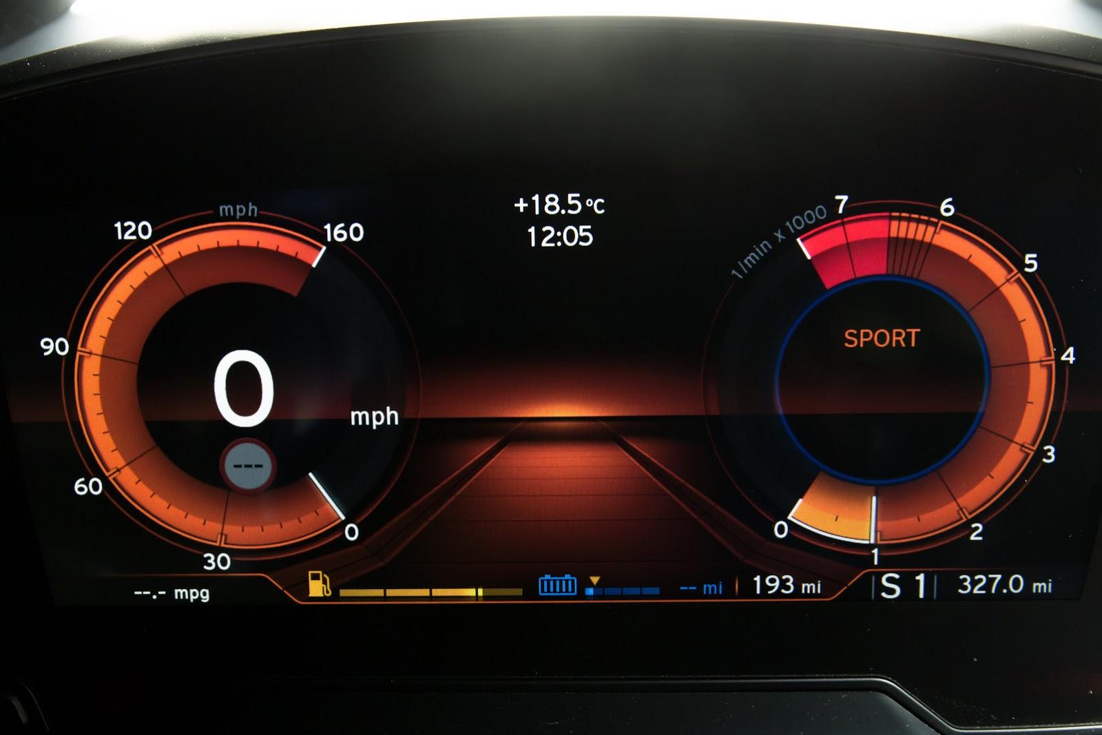 2015 BMW i8 Instrument Panel