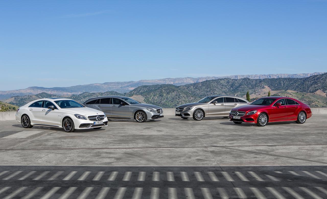 2015 Mercedes-Benz CLS Family