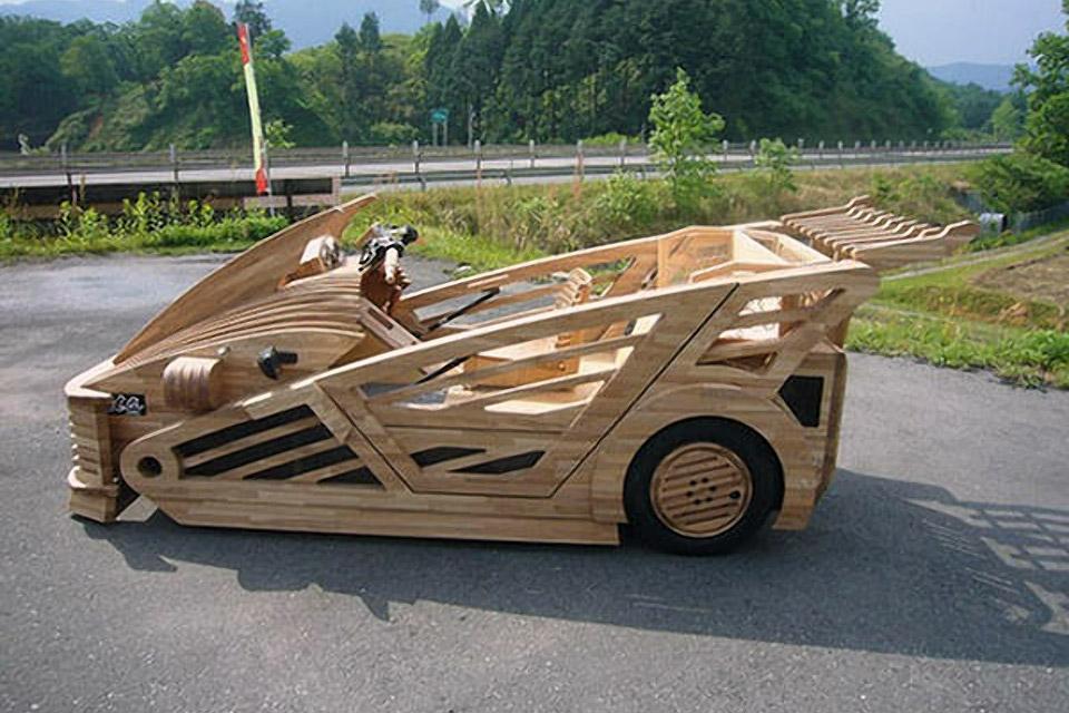 Morgan Maniwa - Wooden Car