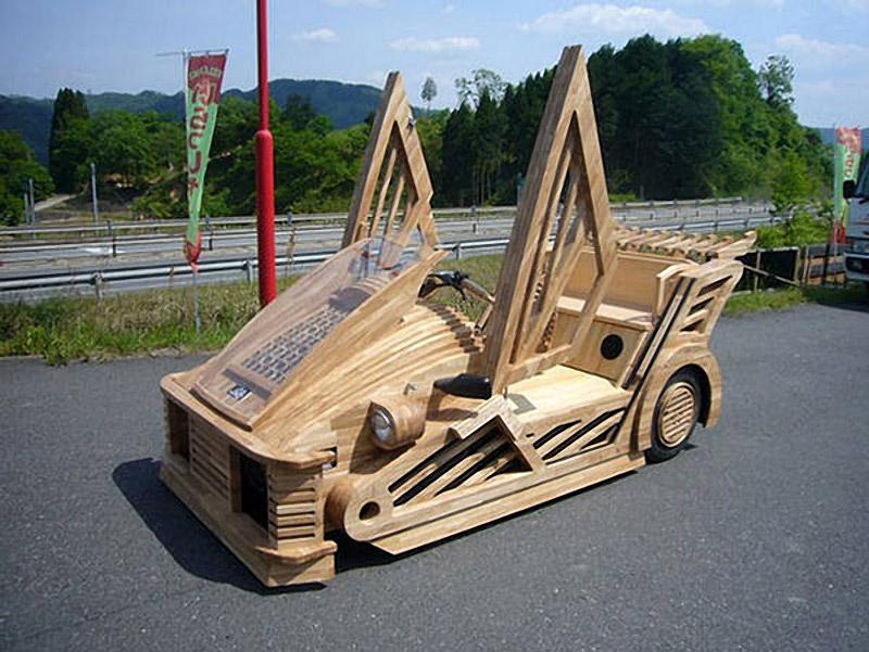 Morgan Maniwa - Japense Wooden Car
