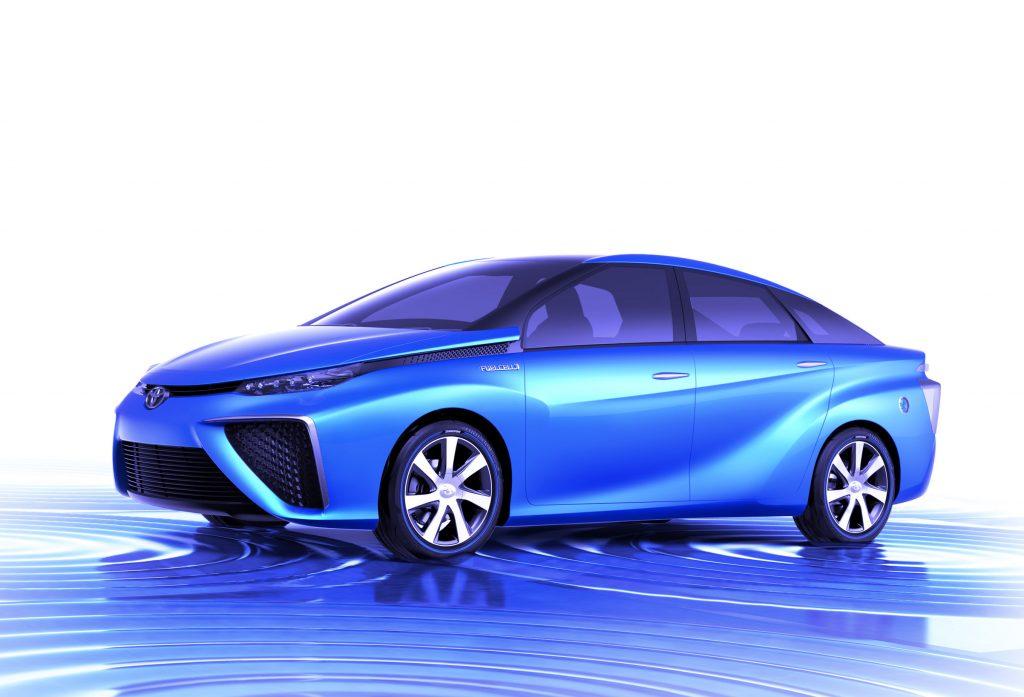 2016 Toyota Mirai Rendering