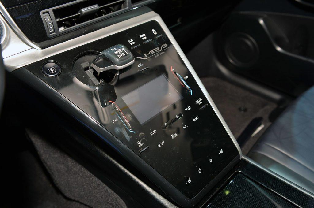 2016 Toyota Mirai Interior