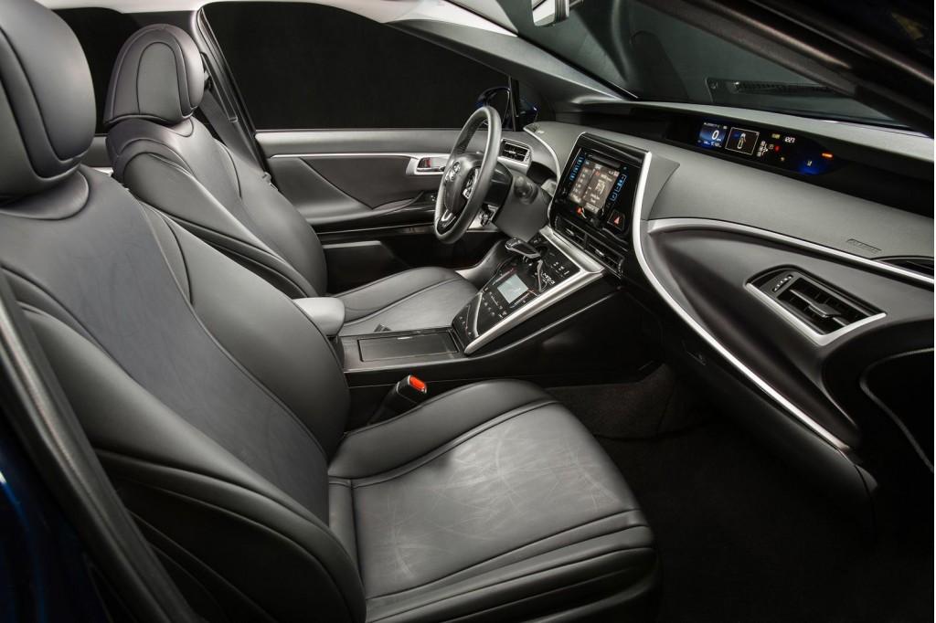 Seats Of The 2016 Toyota Mirai