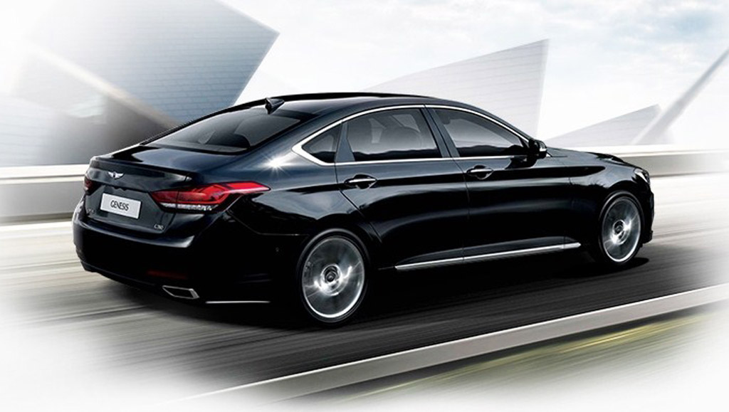 2016 Hyundai Genesis Rear Quarter