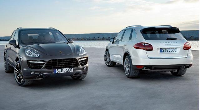New 2015 Porsche Cayenne Line-Up