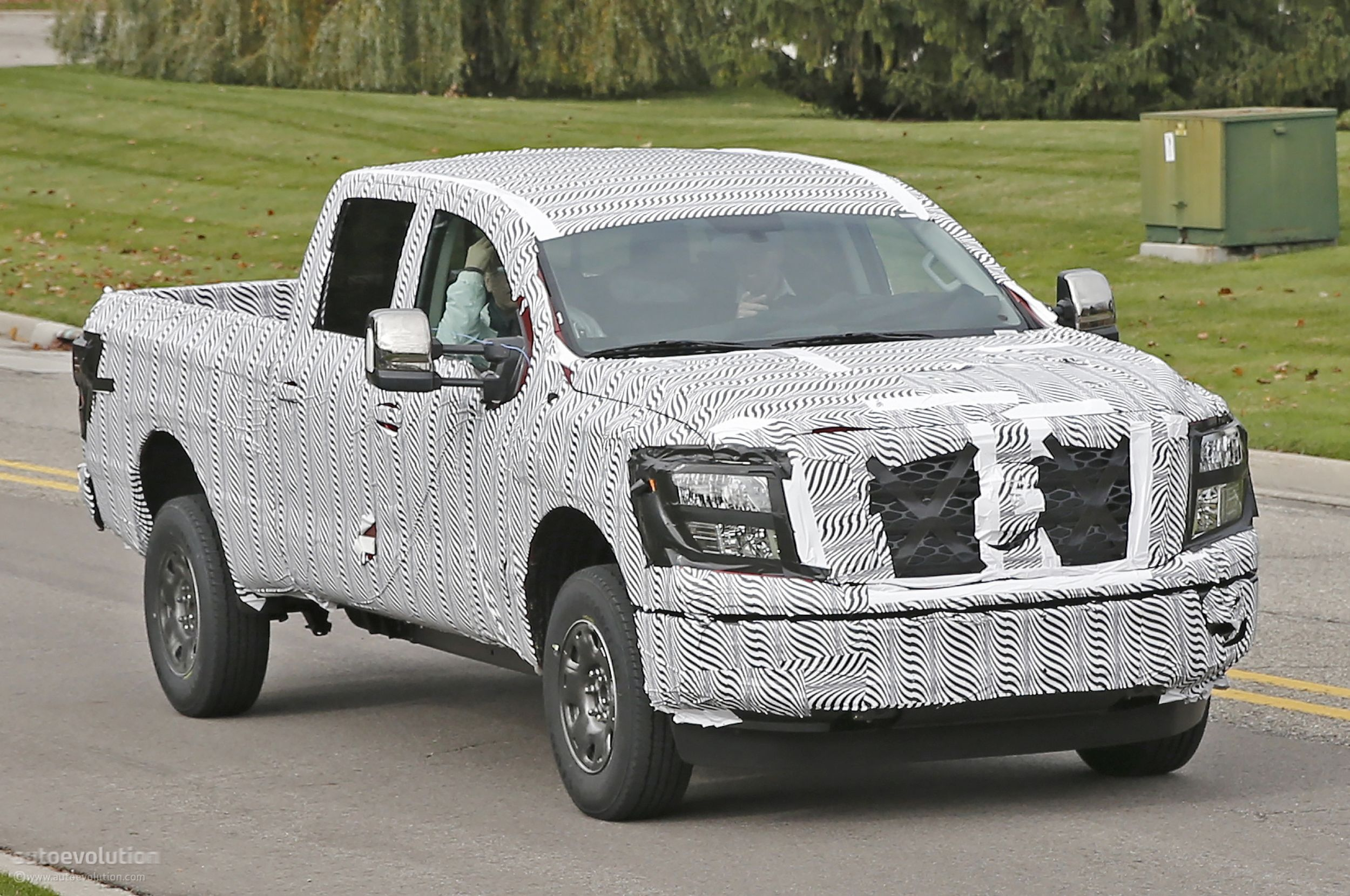 2016 Nissan Titan Has Been Spotted