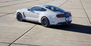 Back Ford GT350 Shelby