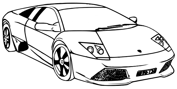 How to Find Free Lamborghini Coloring Pages to Print