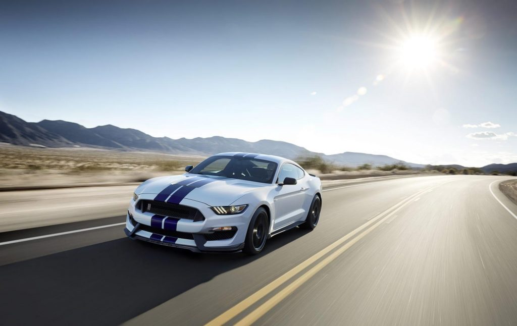 Ford GT350 Shelby Mustang front