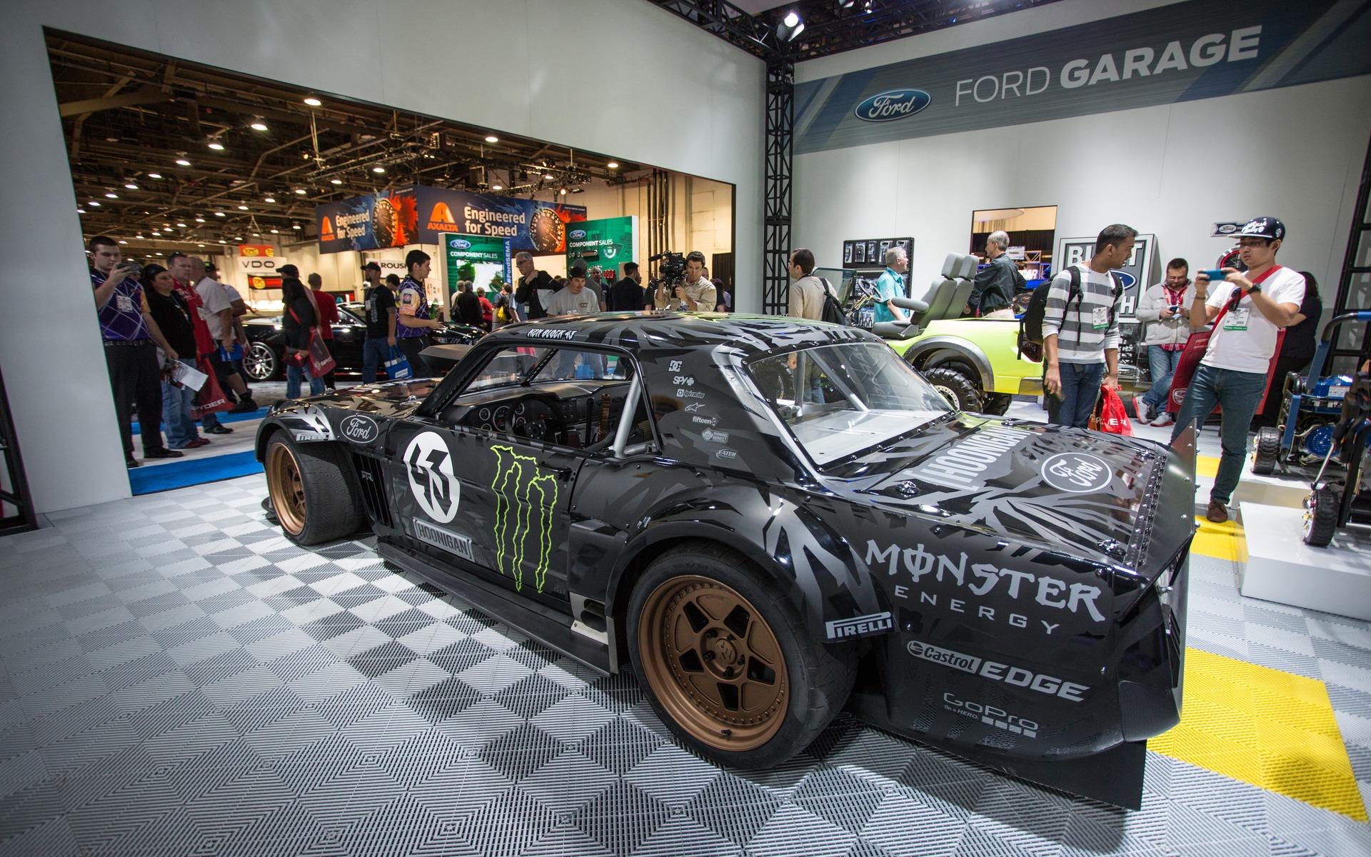 Mustang Hoonicorn RTR 3 - Ken Block Gymkhana 7