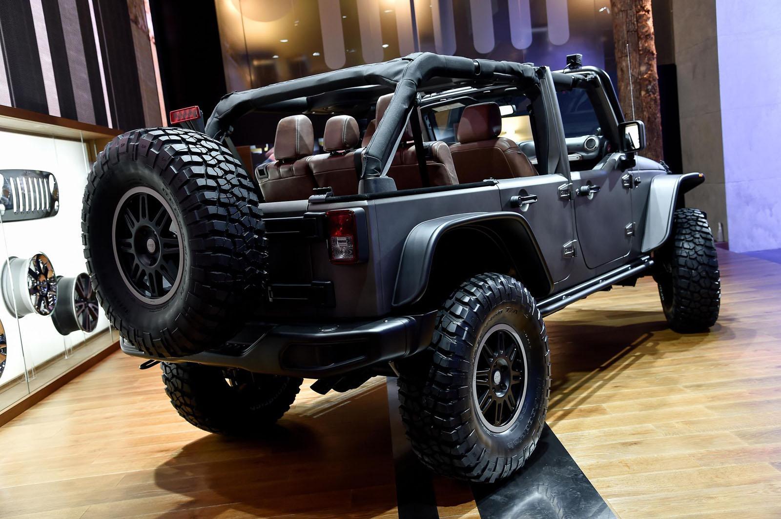 Jeep Wrangler Stealth Concept