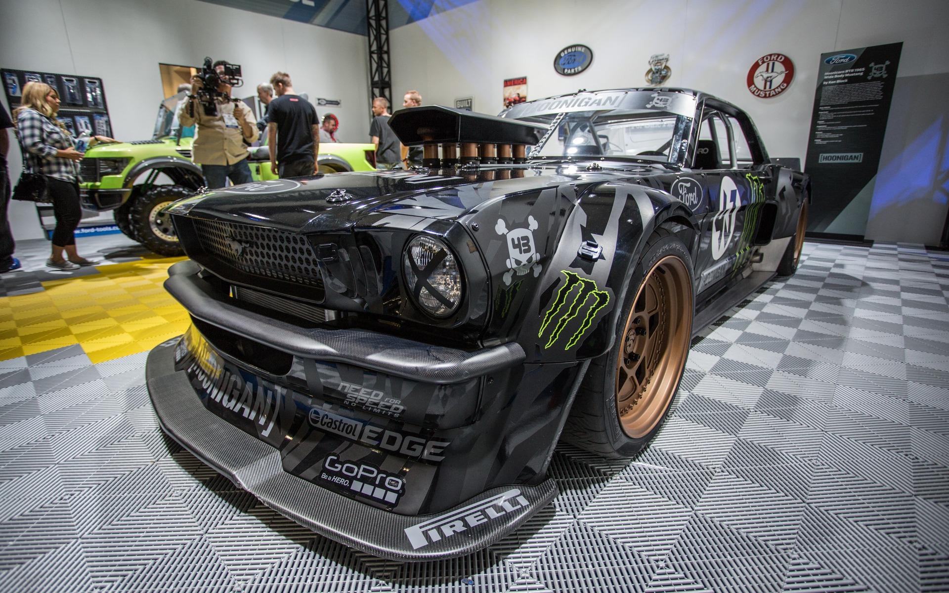 Mustang Hoonicorn RTR 5 - Ken Block Gymkhana 7