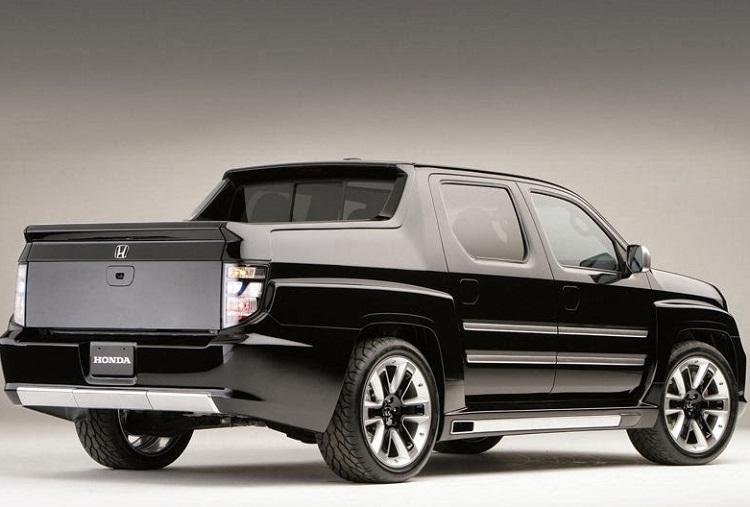 The New 2016 Honda Ridgeline