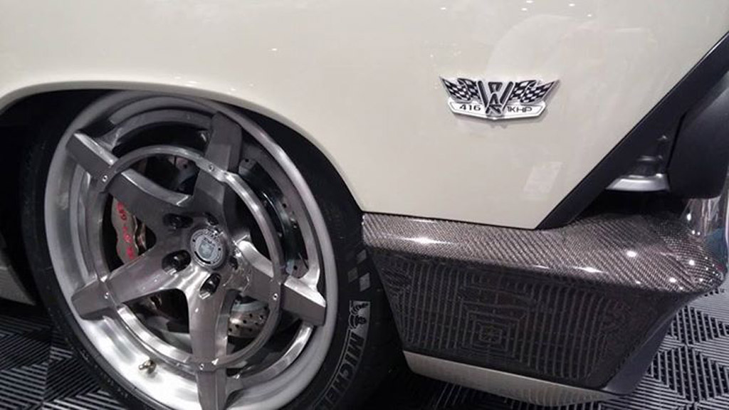 HRE Recoil Wheels Debuted at SEMA on 66 Chevelle