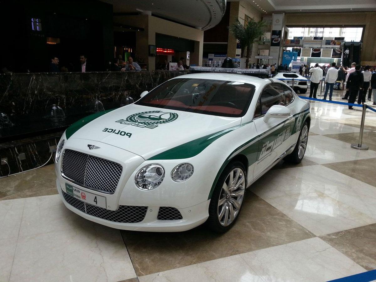 Bentley Continental GT Dubai Police Car