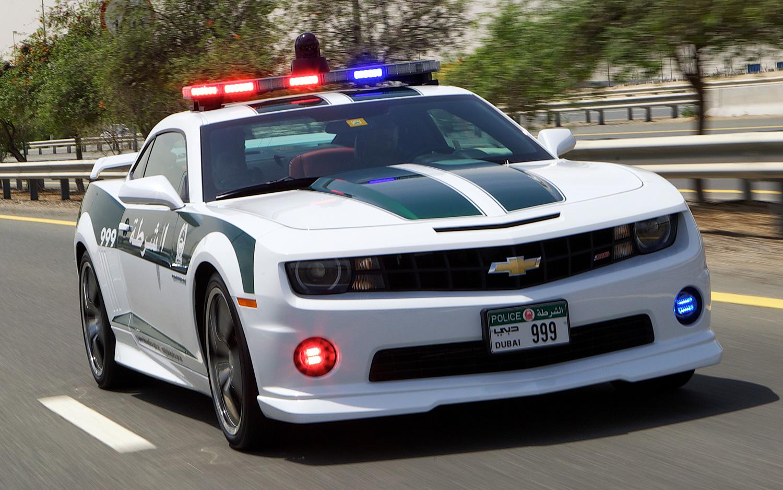 Chevy Camaro SS Dubai Police Car