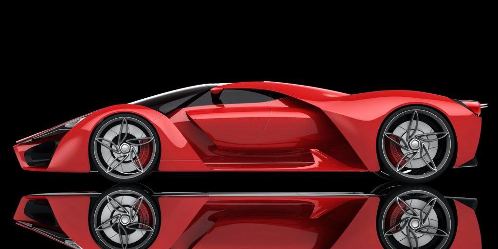 Ferrari F80 Prancing Pony - Ferrari Concept 4
