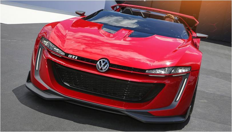 2014 Volkswagen Roadster Vision Concept Launched at the LA Auto Show 2