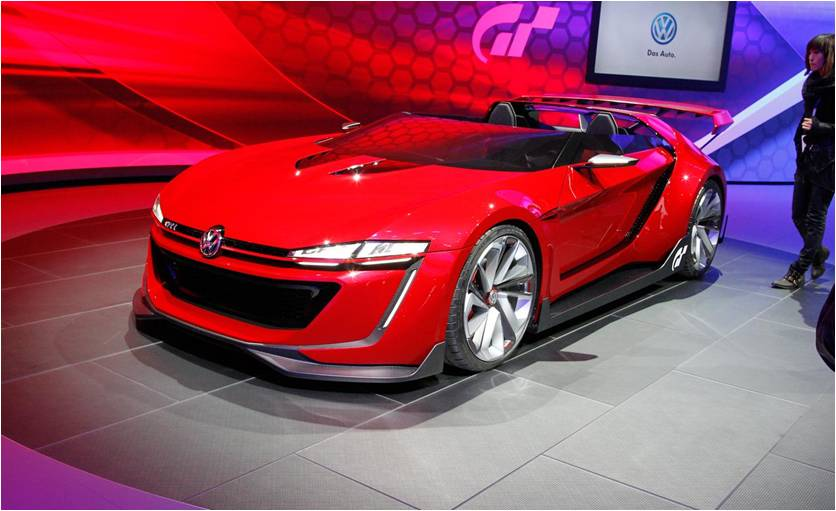 2014 Volkswagen Roadster Vision Concept Launched at the LA Auto Show 5